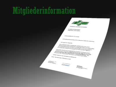 Mitgliederinformation